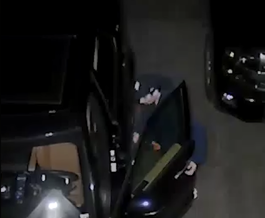 The police are asking forthe public's assistancein identifying a person allegedly shownon camera breaking into a car near North Ridge Street and the Hutchinson River Parkway.