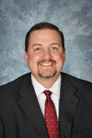 Blake Enlow was named the lone finalist for the Bowie Independent School District superintendent.