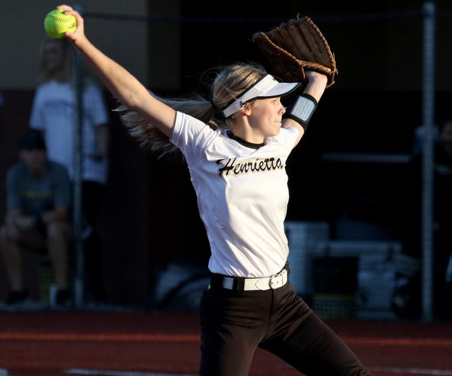Henrietta's Haleigh Hogan earned District 8-3A MVP honors for the second year in a row.