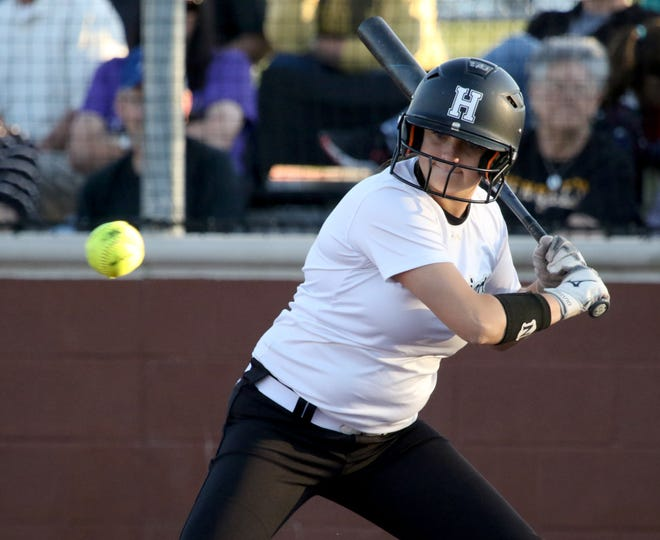 Henrietta's K'Lyn Burleson earned the Game 2 win in relief and also had a key two-run hit in the Lady Bearcats' 13-12 comeback.