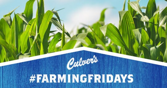 Culver's #FarmingFridays social media series returns on April 26, 2019. The series features influencers from the agricultural industry, who share their stories on Culver's Facebook, Instagram, Snapchat and Twitter accounts.