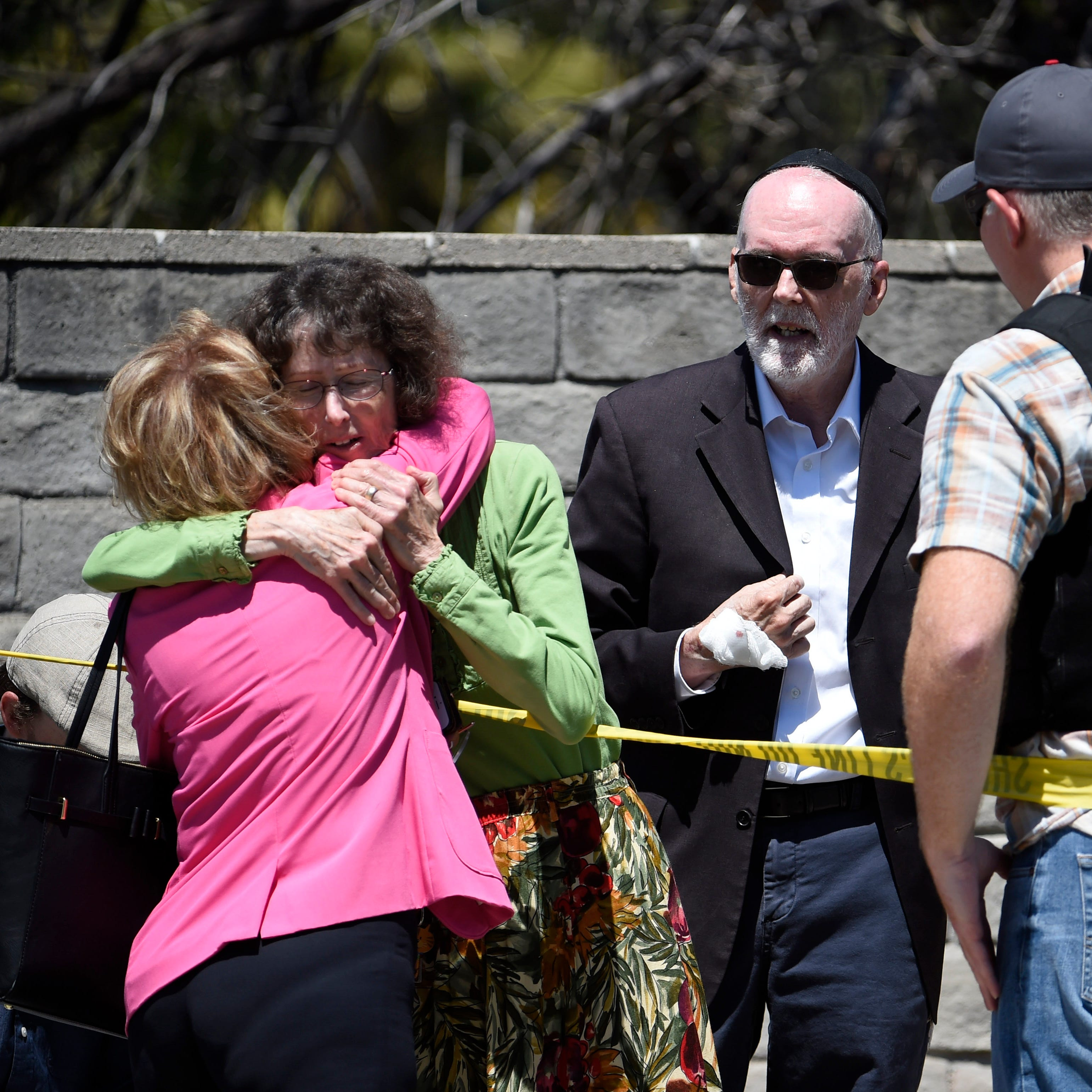 'People running everywhere': 1 dead, 3 wounded in Passover shooting at synagogue near San Diego