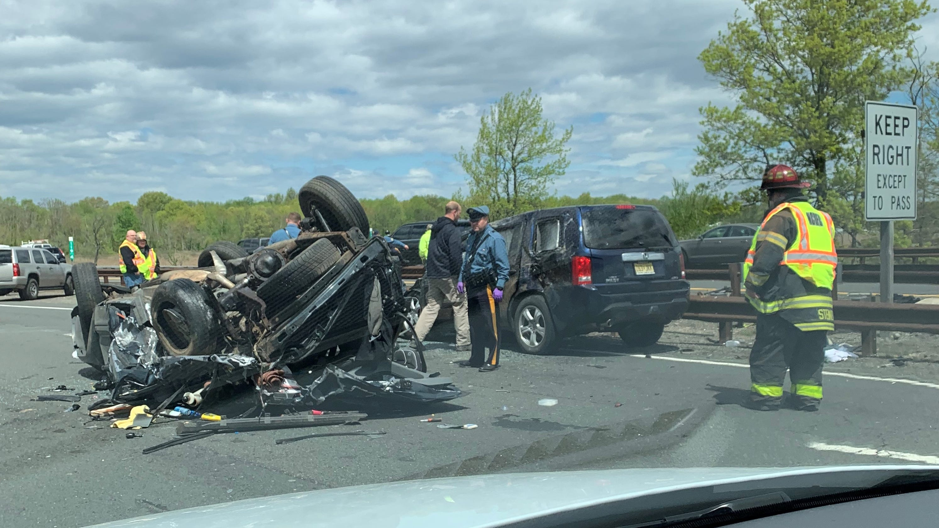 Parkway crash here 39 s what we know now - Accident on garden state parkway north today ...