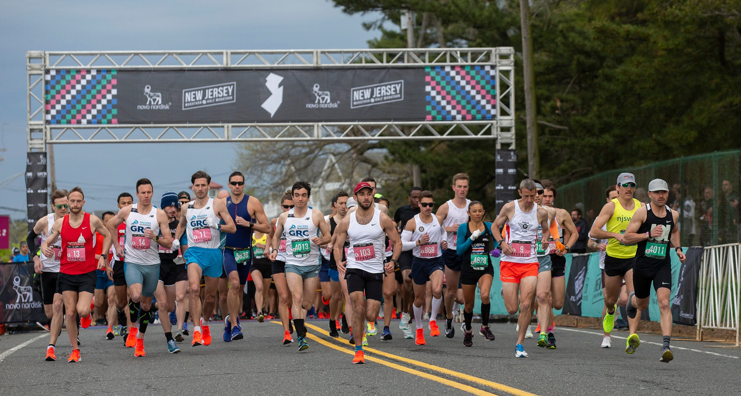 NJ Marathon 2019: Thousands participate in Jersey Shore race