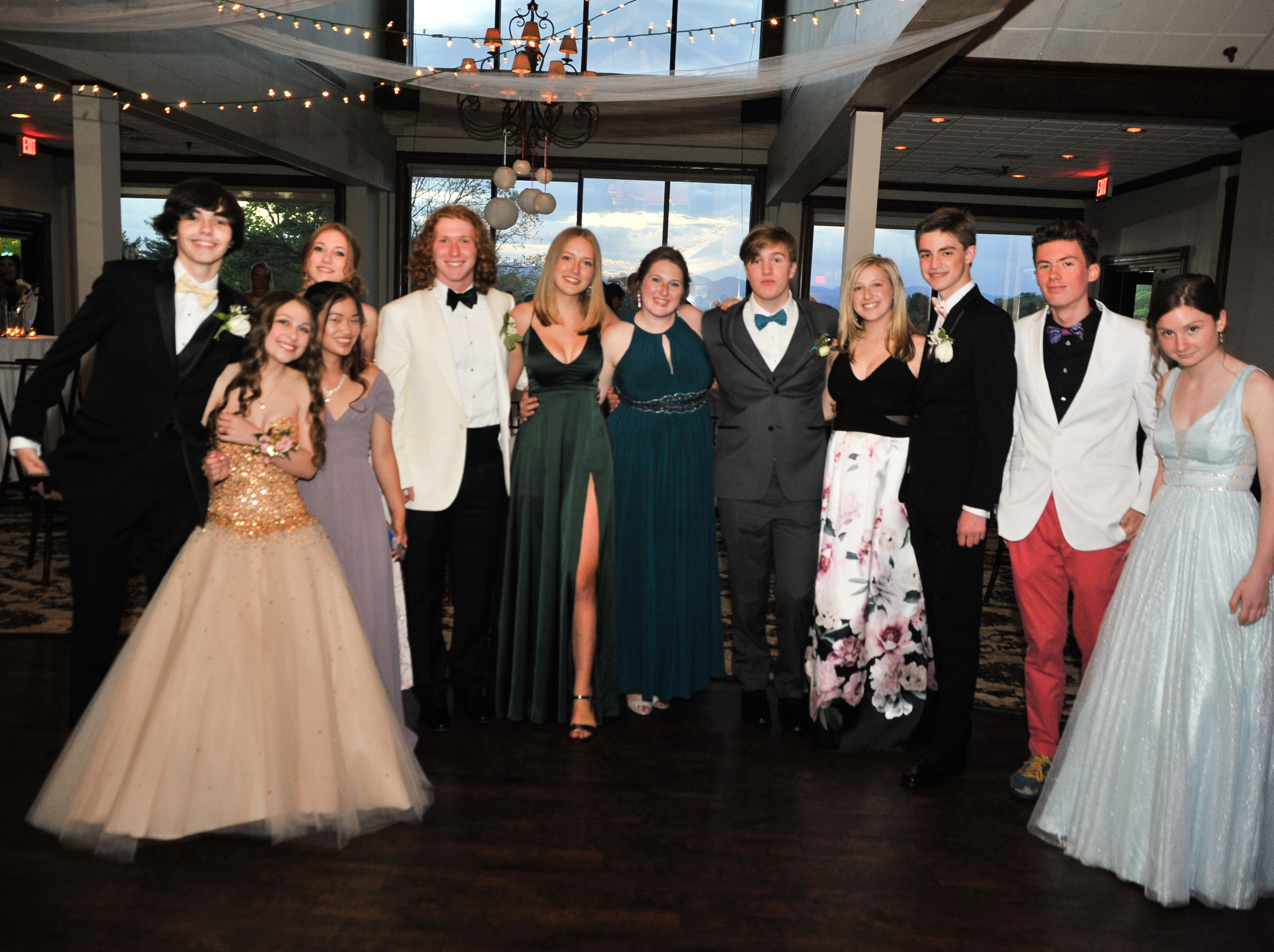 Scenes from the Carolina Day School prom, at the Country Club of Asheville, on April 27, 2019.