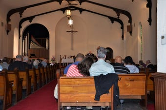 First Presbyterian Church of Albion celebrated its final service on Sunday, April 28, 2019.