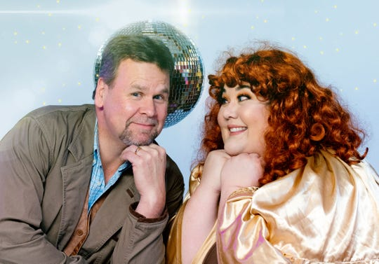 """BPA veterans Wayne Purves (Bill) and Michelle Abad (Rosie) are in the cast of BPA's """"Mamma Mia!"""""""