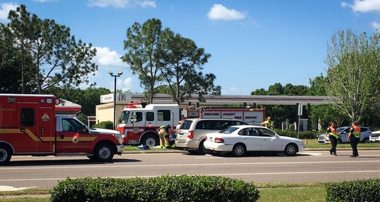 Florida Highway Patrol investigators are reviewing a crash that happened at N. Wickham Road near intersection of Murrell Road Sunday. A 100-year-old passenger in one of the vehicles later died, authorities reported.