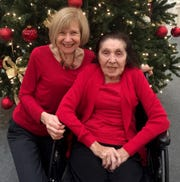 Dr. Eva Feldman and her mom, Margherita Feldman, pose together for a photograph in December 2017. Three months later, Margherita Feldman, who had Alzheimer's disease, died.