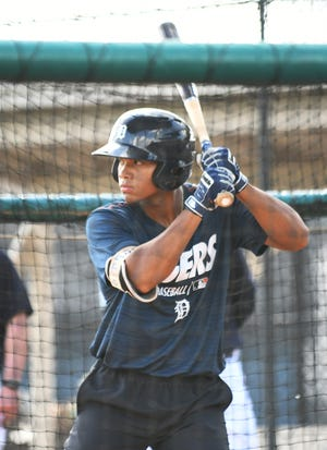 Tigers shortstop prospect Wenceel Perez is off to a slow start at the plate at Single-A West Michigan, hitting .194 through Sunday.