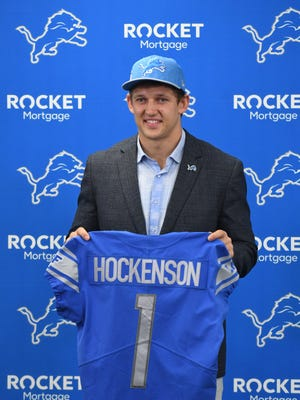 The Lions made T.J. Hockenson the third tight end they've selected in the first round round in the past decade.