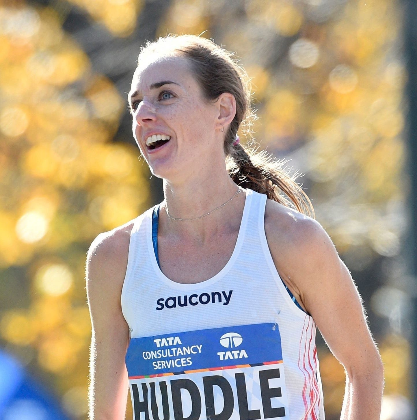 Huddle struggles to career-best marathon time, finishes 12th in London