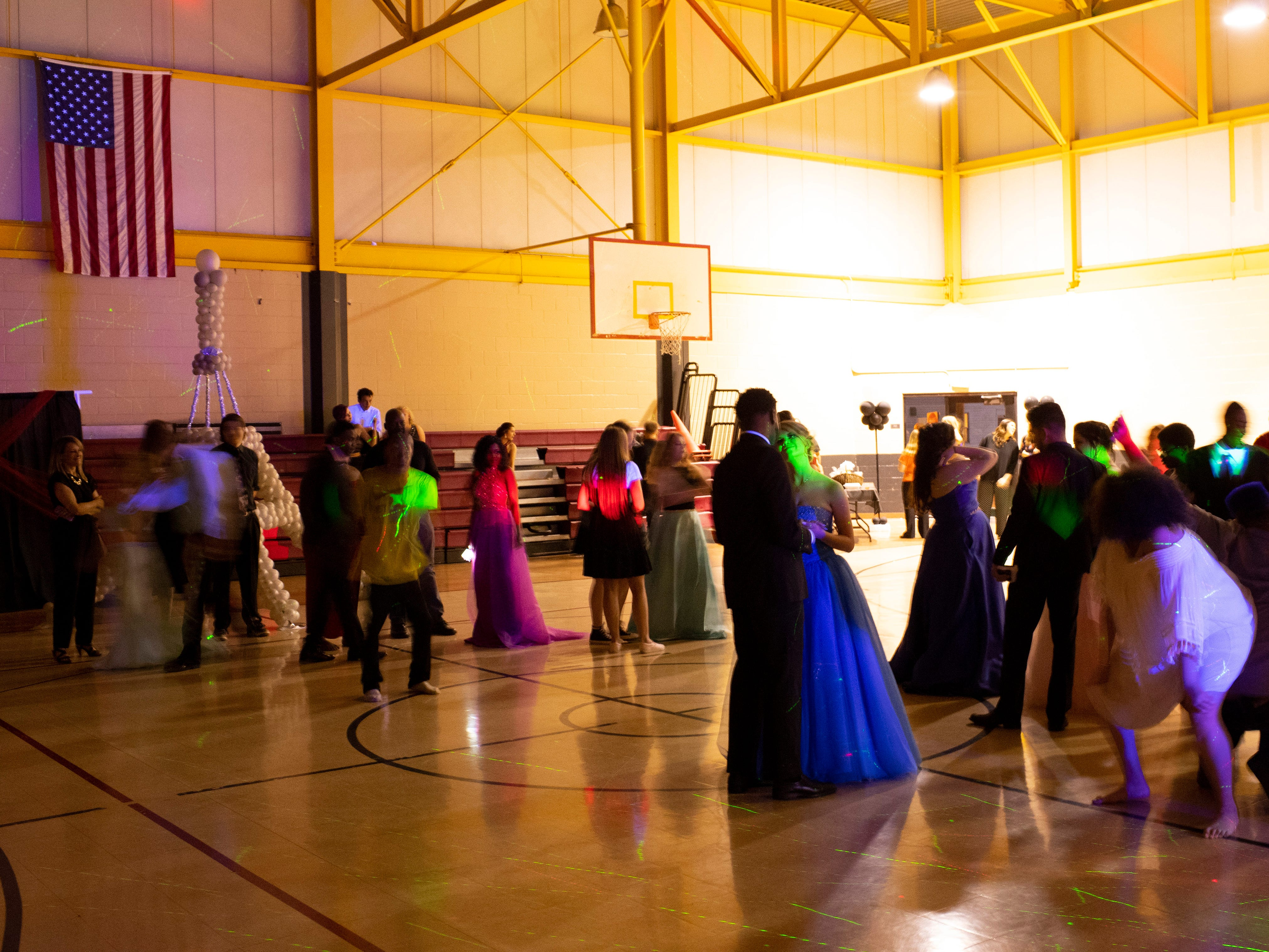 A Night in Paris was the themed at the Harwood Career Prep prom Saturday night.
