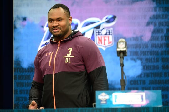 Florida State defensive tackle Demarcus Christmas was selected by the Seattle Seahawks with the 209th pick in the 2019 NFL Draft.