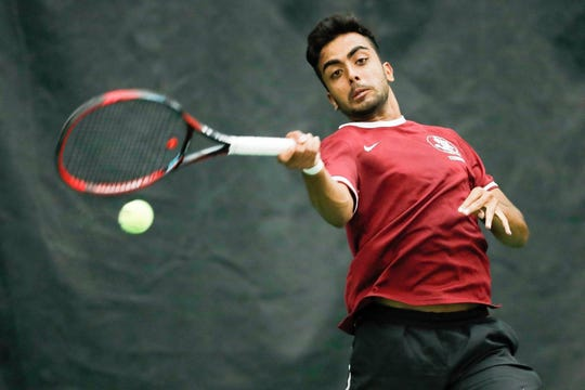 Florida State junior Rana-Roop Bhullar has sparked the Seminoles with a 13-7 record in singles play.