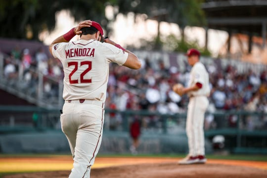 Junior third baseman Drew Mendoza has led Florida State through one of its toughest stretches in recent memory.