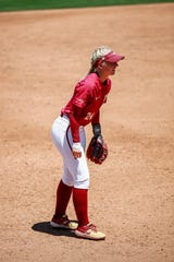 Coming off a championship season for Florida State, Sydney Sherrill, has been an instrumental part of the Seminoles' lineup this year.