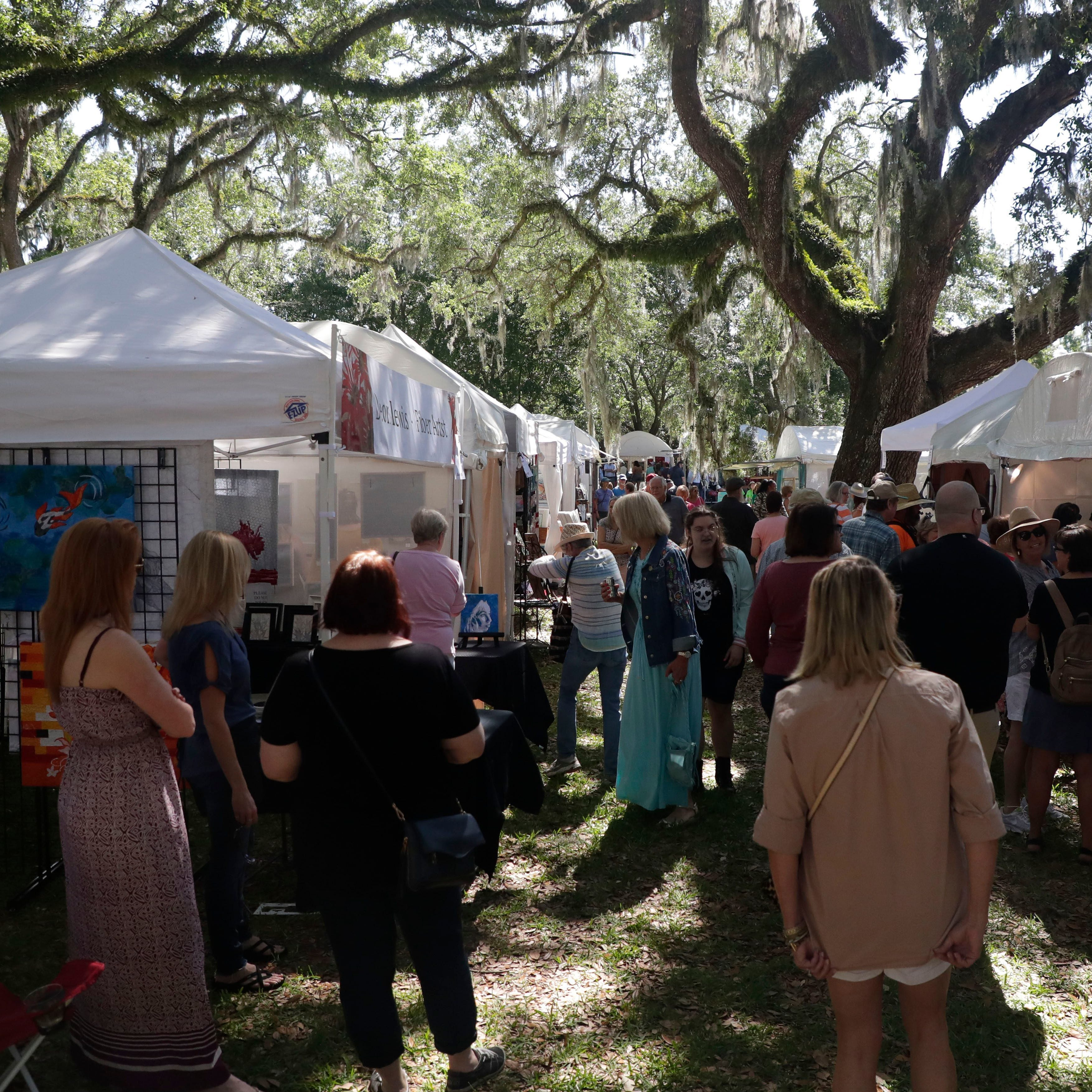 19th annual Chain of Parks Art Festival takes over Downtown Tallahassee