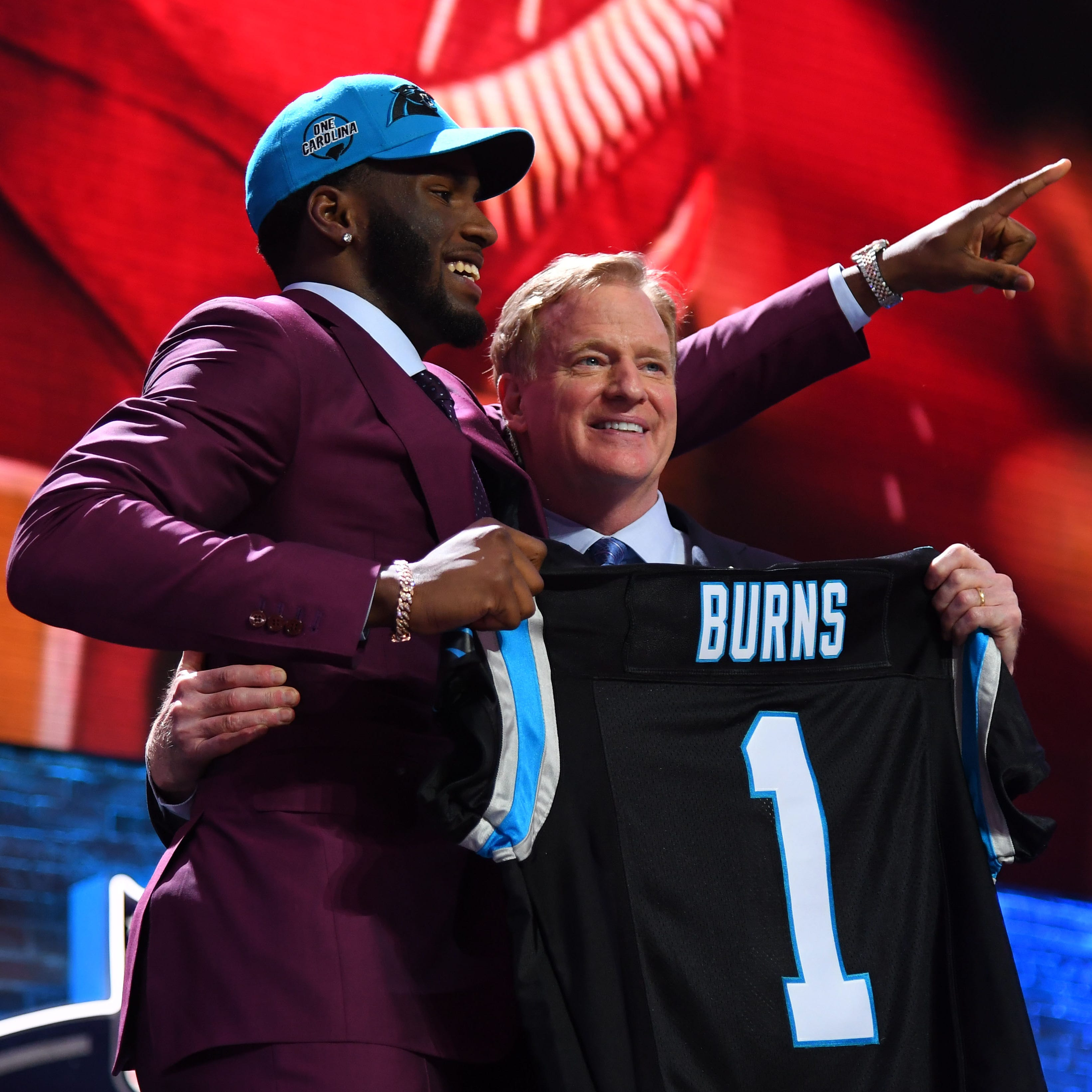 Burns, Christmas NFL Draft dreams become reality