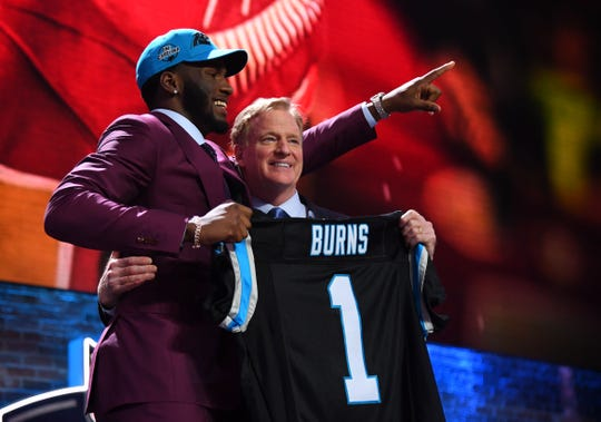 Selected No. 16 overall by the Carolina Panthers, Florida State defensive end Brian Burns became 45th Seminole picked in the first round of the NFL Draft.