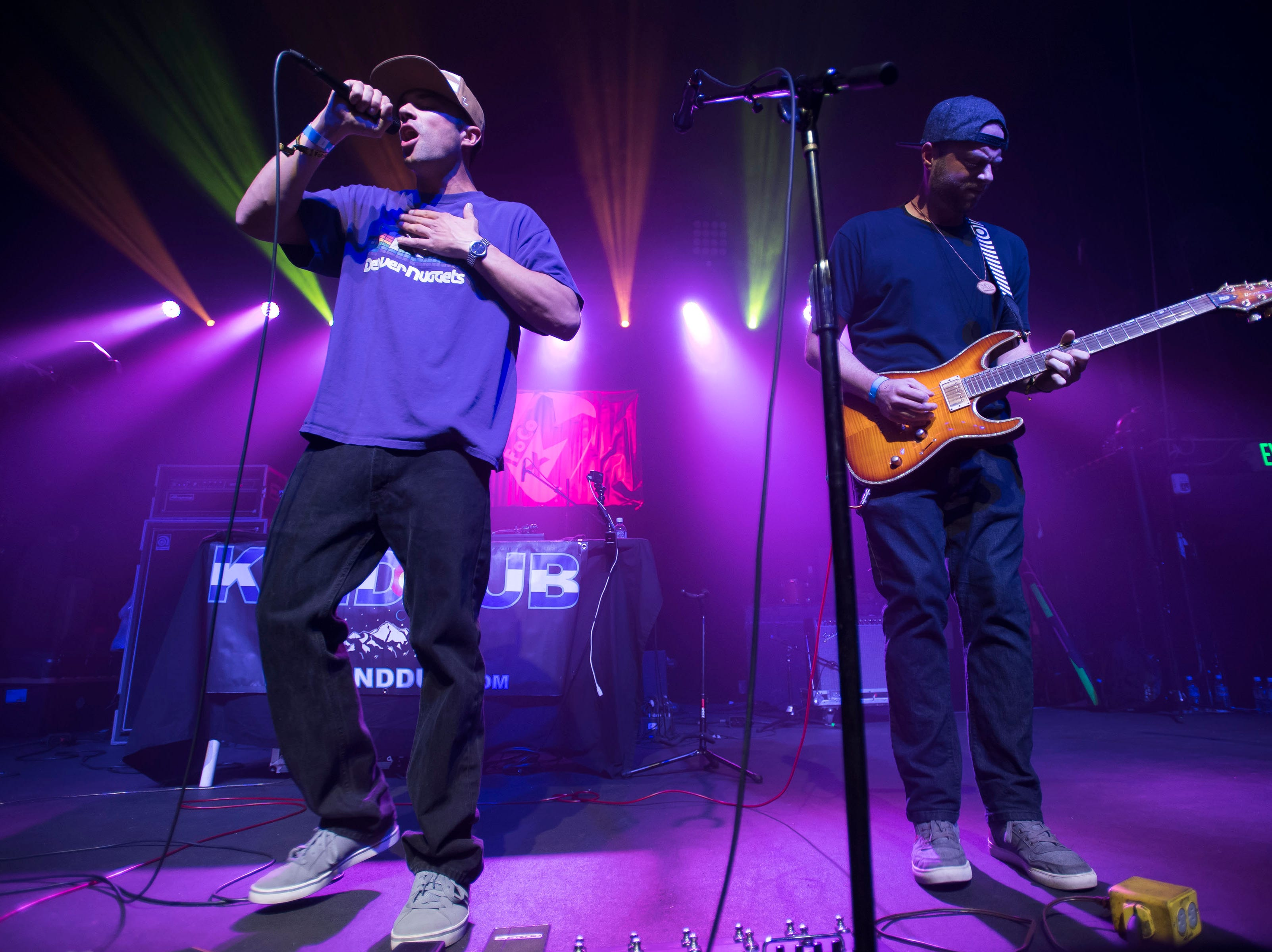 Kind Dub plays a set at The Aggie Theatre during the FoCoMX XI music festival on Saturday, April 27, 2019, in Fort Collins, Colo.