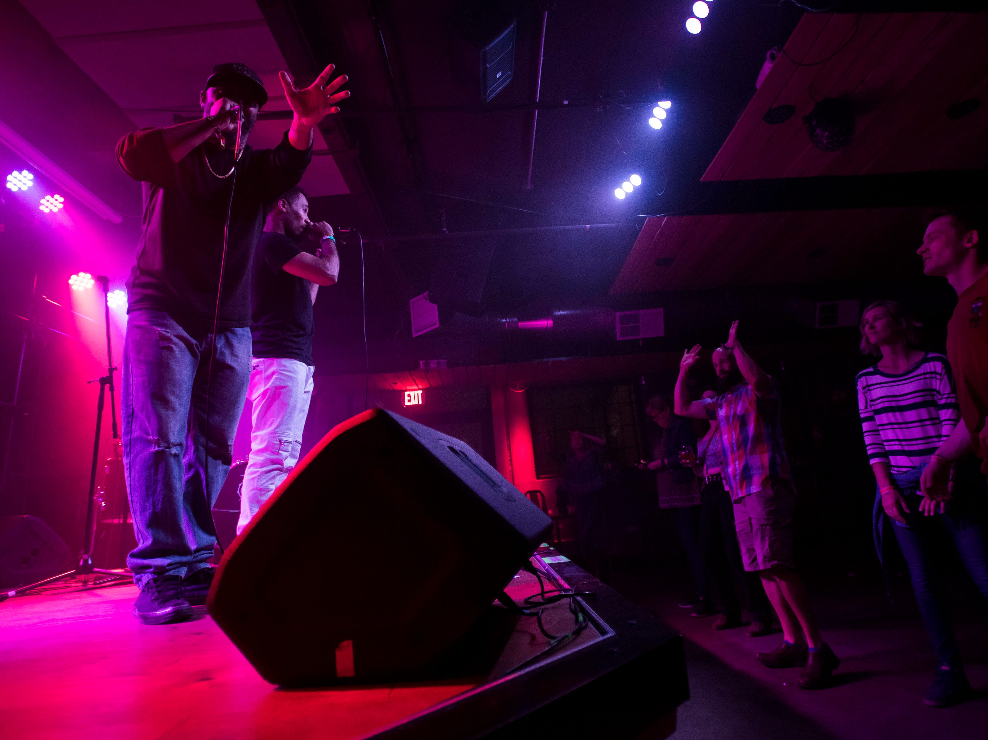 SF1 plays a set at Downtown Artery during the FoCoMX XI music festival on Saturday, April 27, 2019, in Fort Collins, Colo.