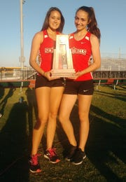 The Evangelical Christian School girls track and field team placed second in the Class 1A-Region 2 meet on Saturday in Wesley Chapel.