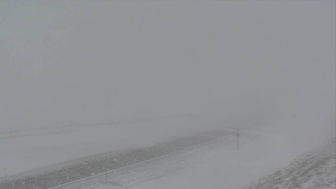 A blizzard has produced terrible traveling conditions across northcentral Montana with some of the worst on on U.S. Highway 89 in the Monarch Canyon.