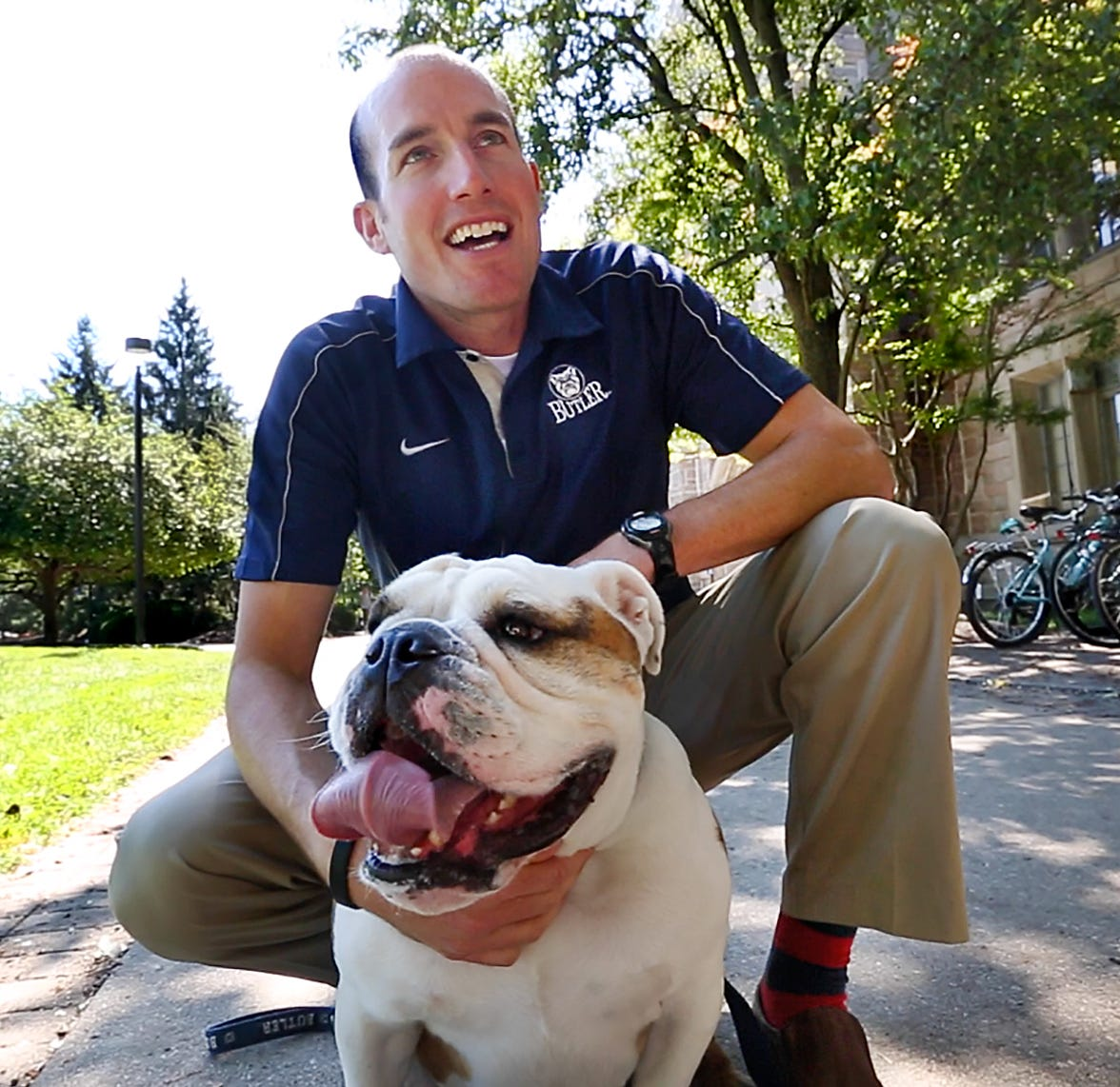 Butler Blue handler Michael Kaltenmark needs new kidney