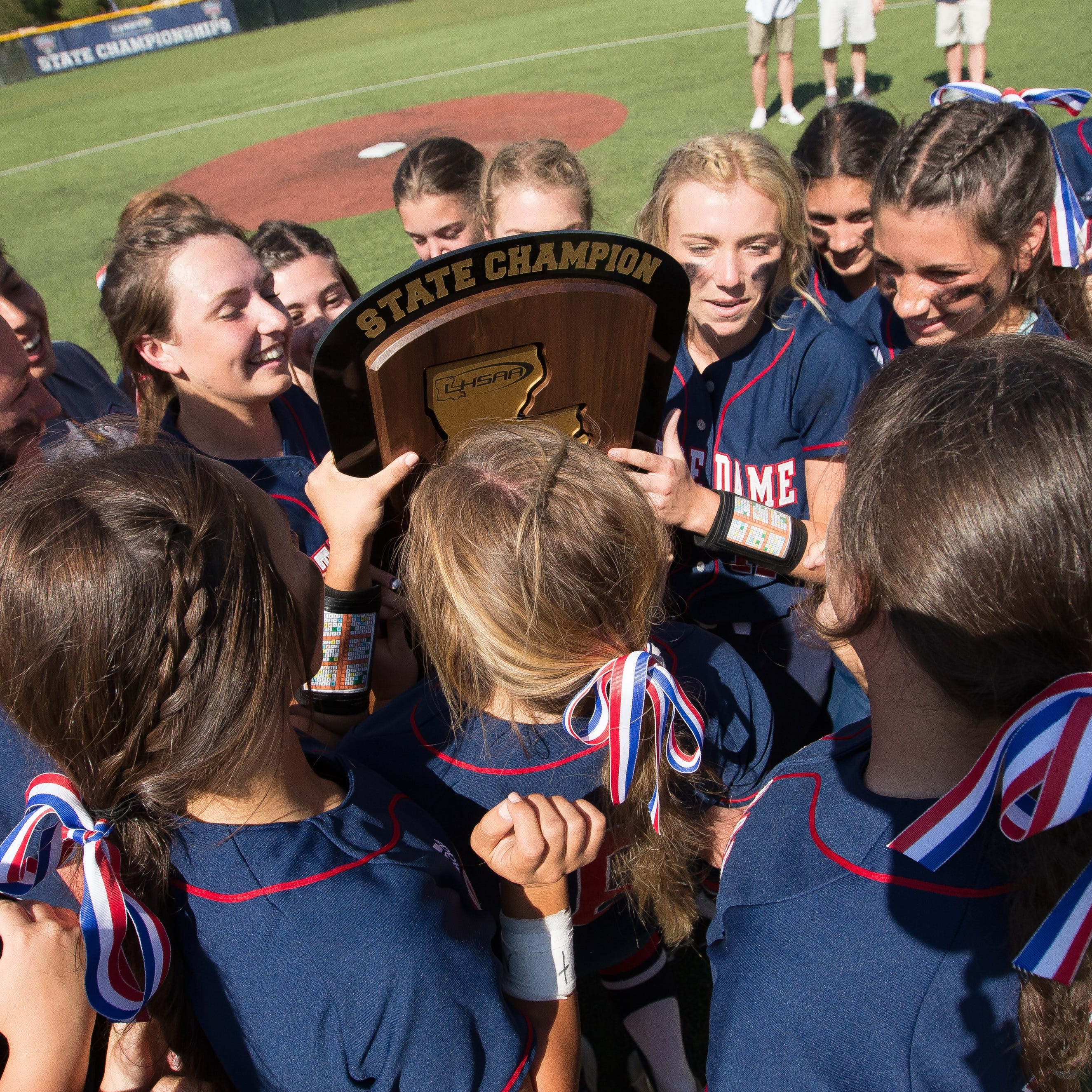 Notre Dame repeats as state softball champions
