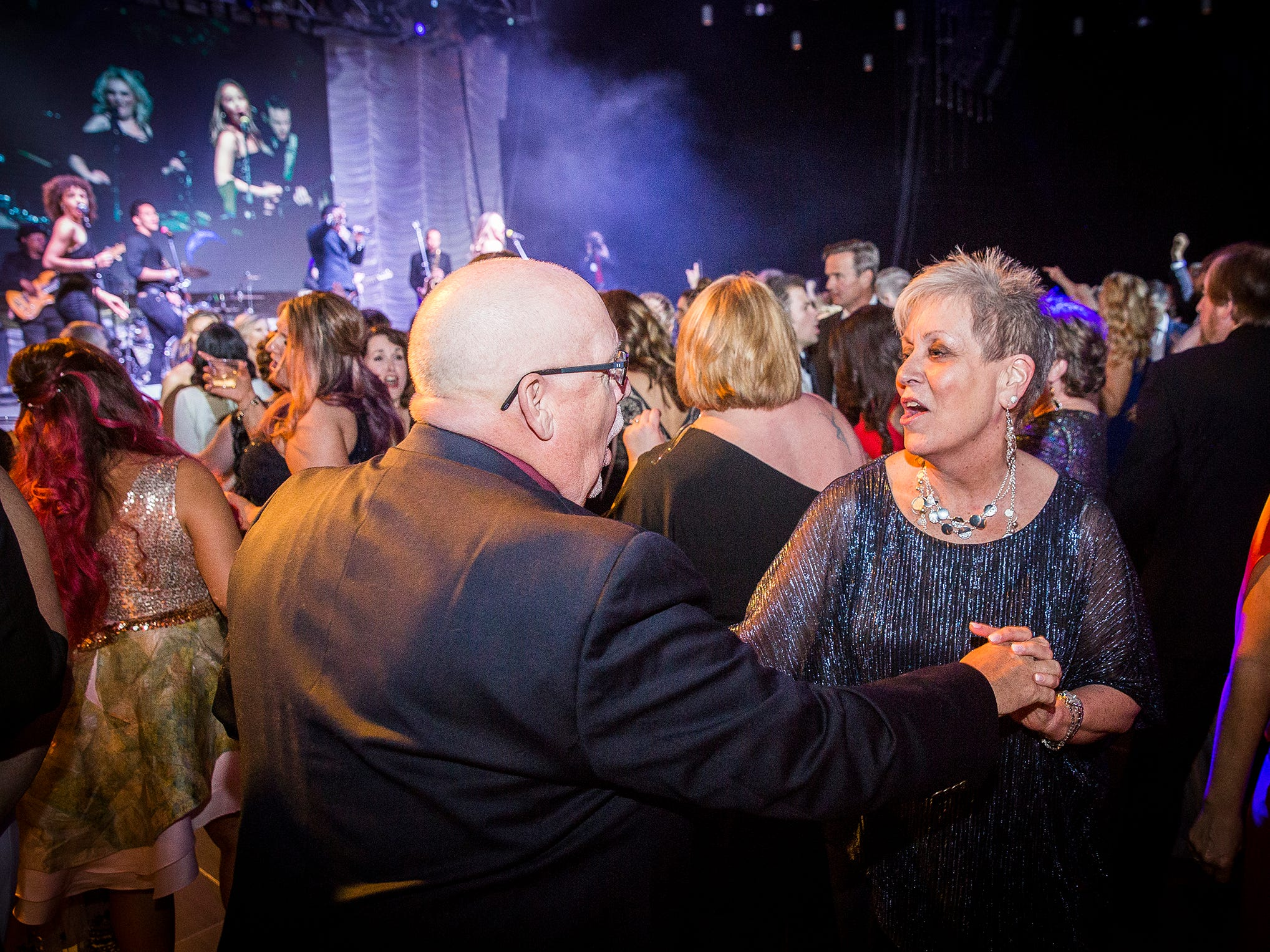 Thousands attended Rialzo X which raised funds for Meridian Health Services Maternal Treatment Program at the Horizon Convention Center Saturday night.