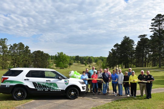The grand opening of the City of Dickson's new Henslee Park was Saturday, April 27. The park is the former Dickson Country Club.