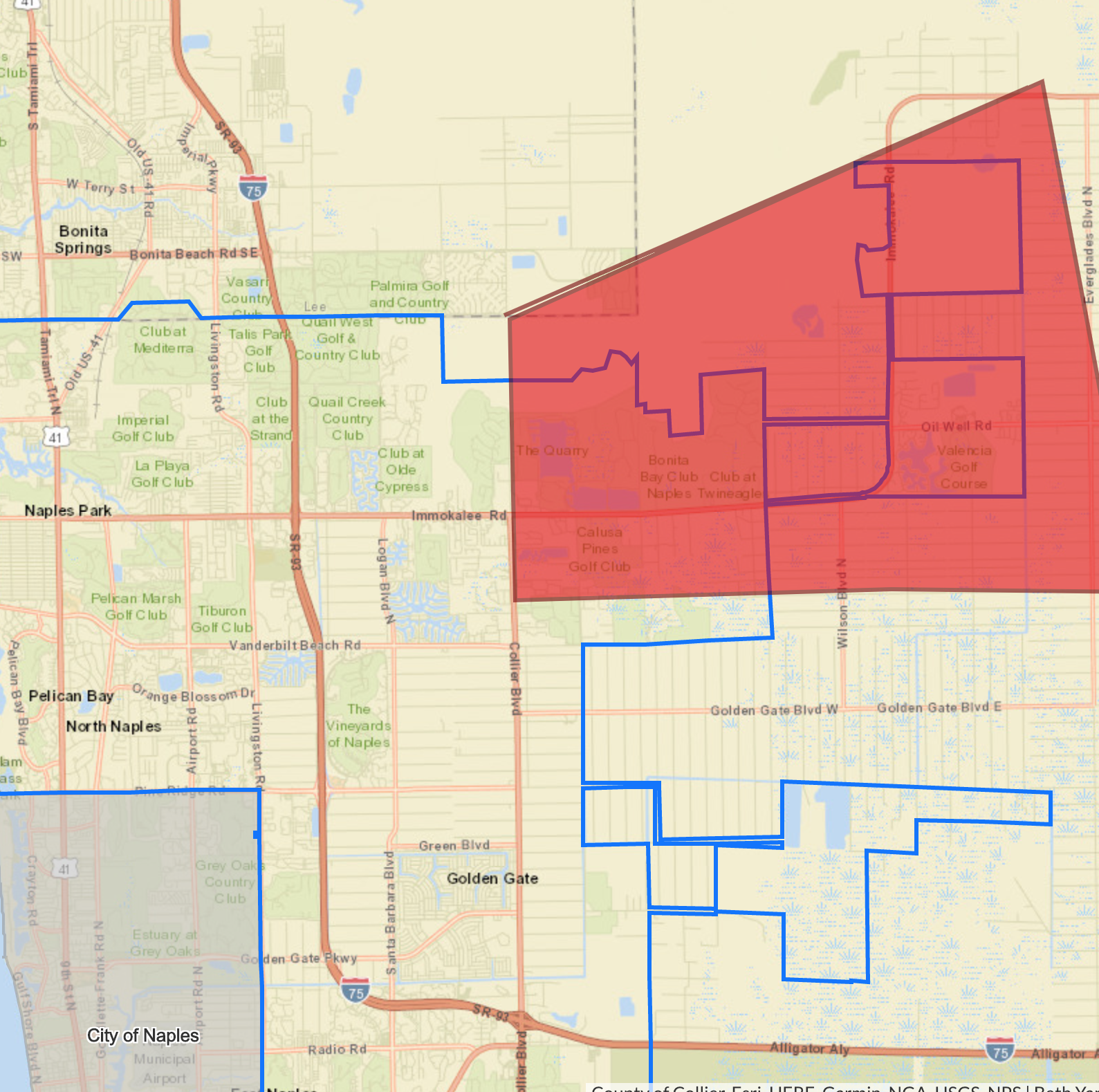 Precautionary boil water notice for residents along Immokalee Road east of Collier Boulevard