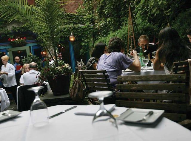 The best of outdoor dining: Outdoor seating restaurants in