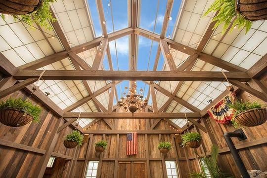Inside The Barn behind The Barrow House