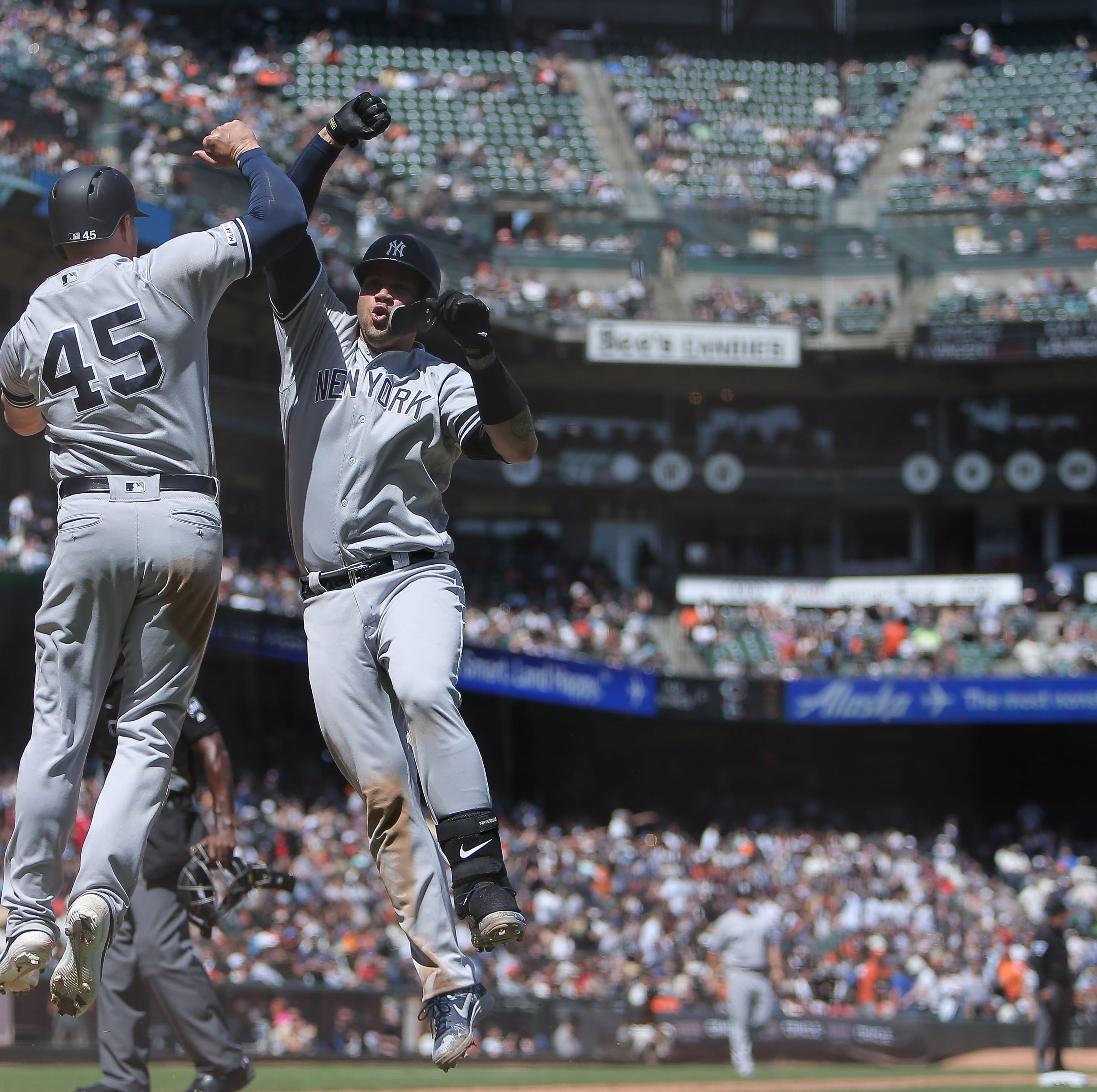 Yankees complete sweep of Giants, but more injuries mount