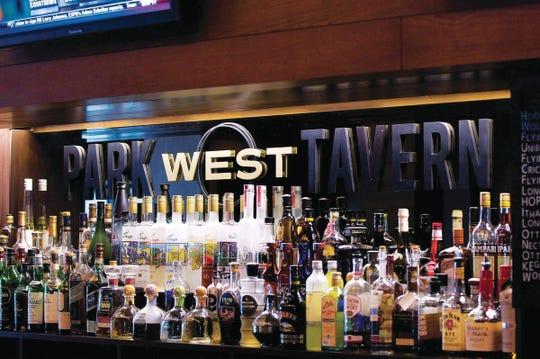 Cocktails change often at Park West Tavern. Enjoy 'em outdoors