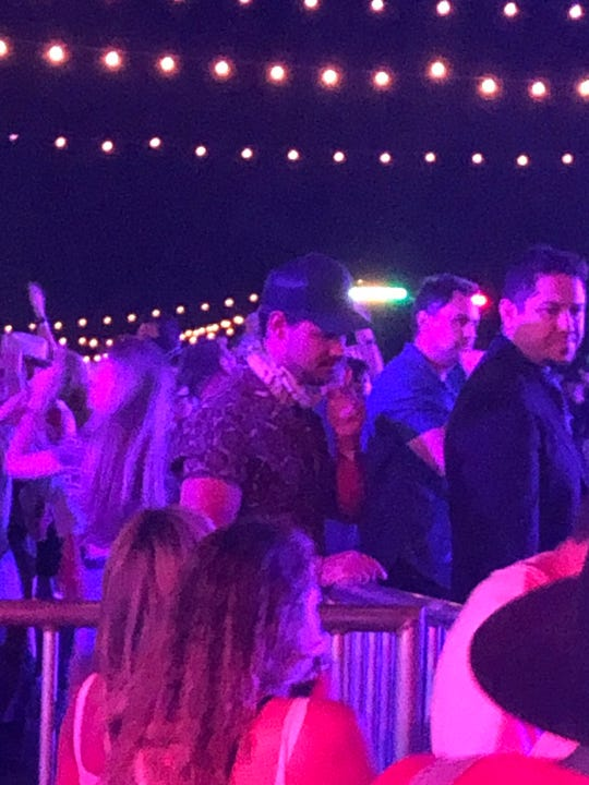 Taylor Lautner at Neon Carnival during Stagecoach, April 27, 2019