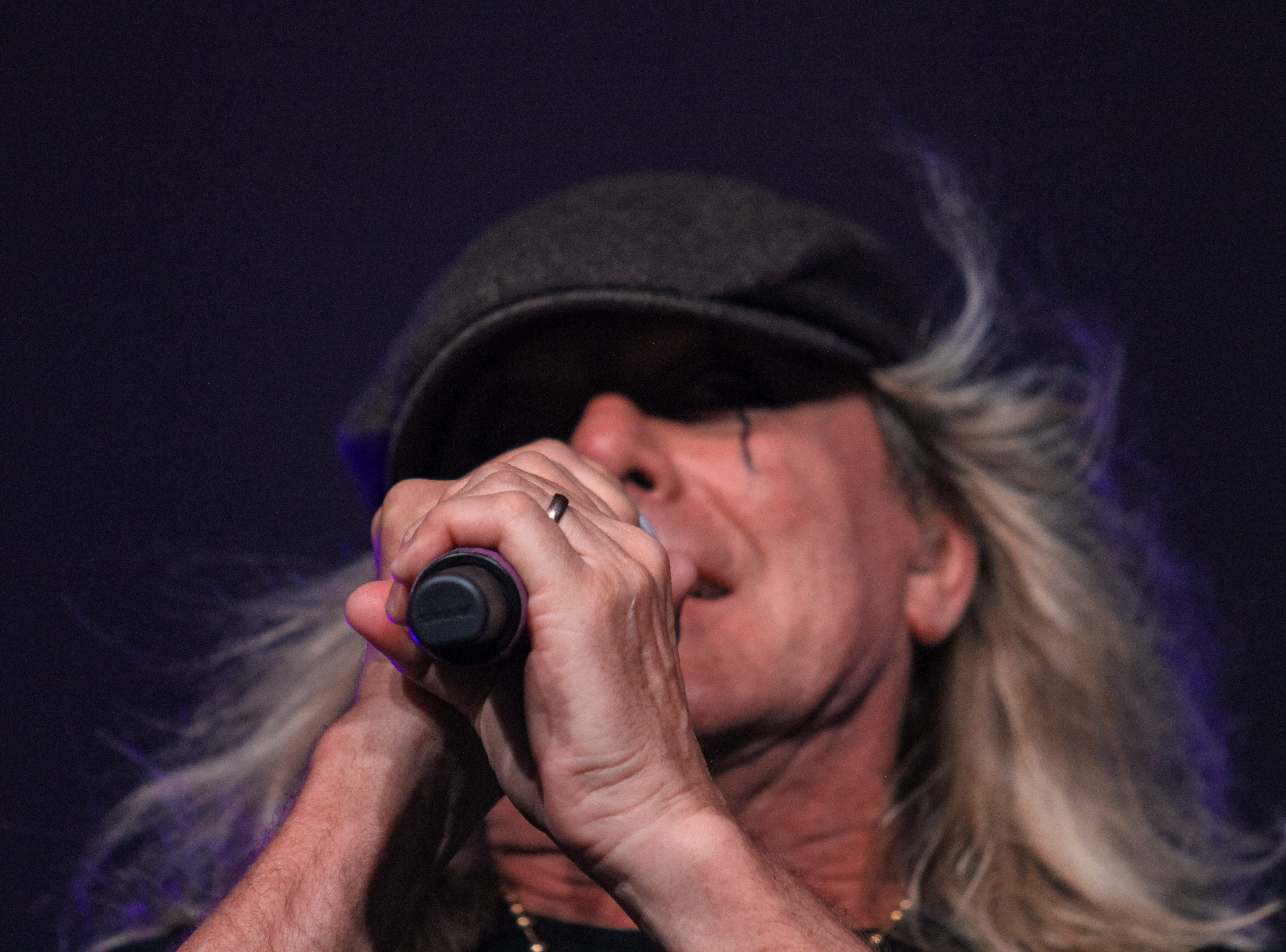 Robin Zander of Cheap Trick performs at Alice Cooper's Rock & Roll Fundraising Bash at the Las Sendas Golf Club in Mesa on April 27, 2019.