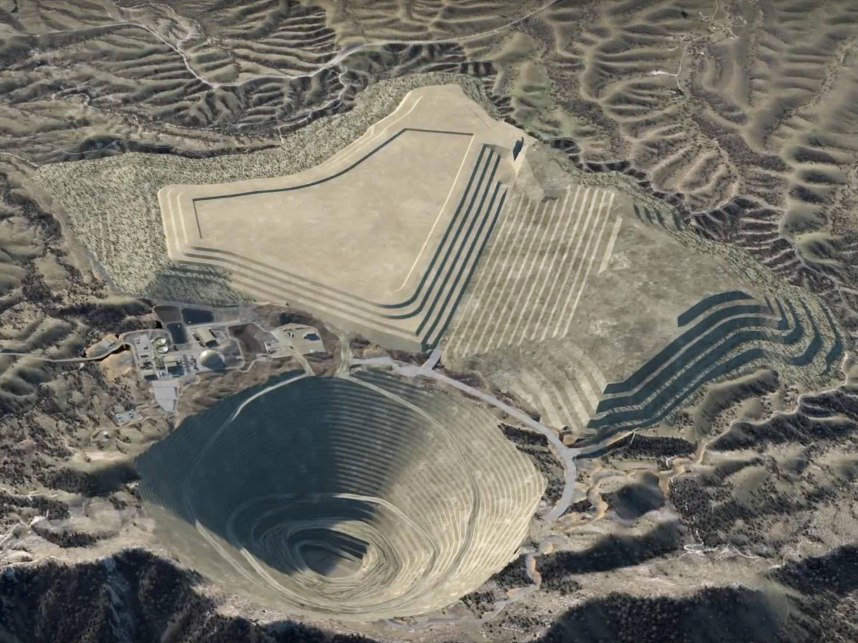 Rosemont Mine.