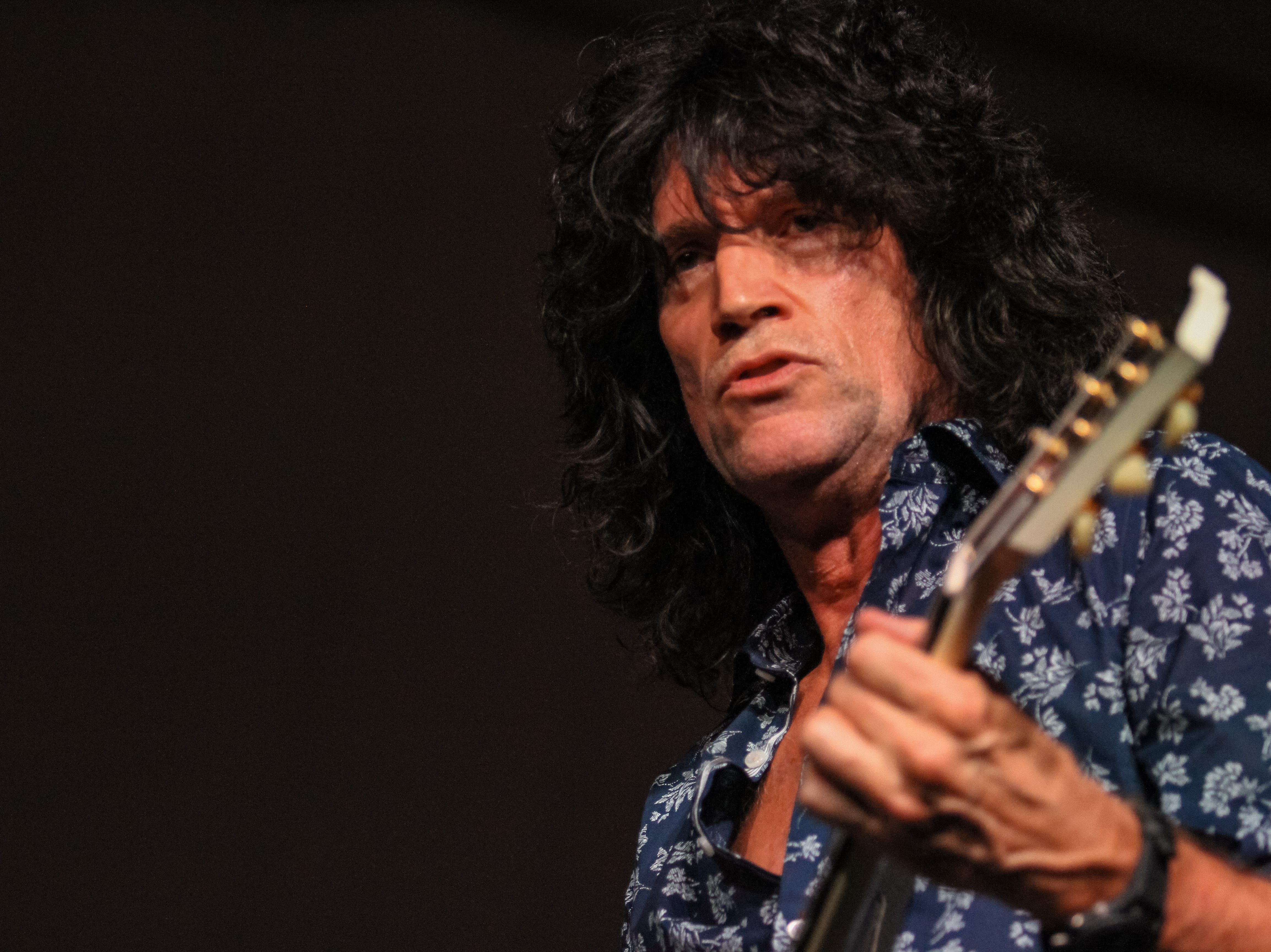Tommy Thayer of Kiss preforms atAlice Cooper's Rock & Roll Fundraising Bash  at the Las Sendas Golf Club in Mesa on April 27, 2019.