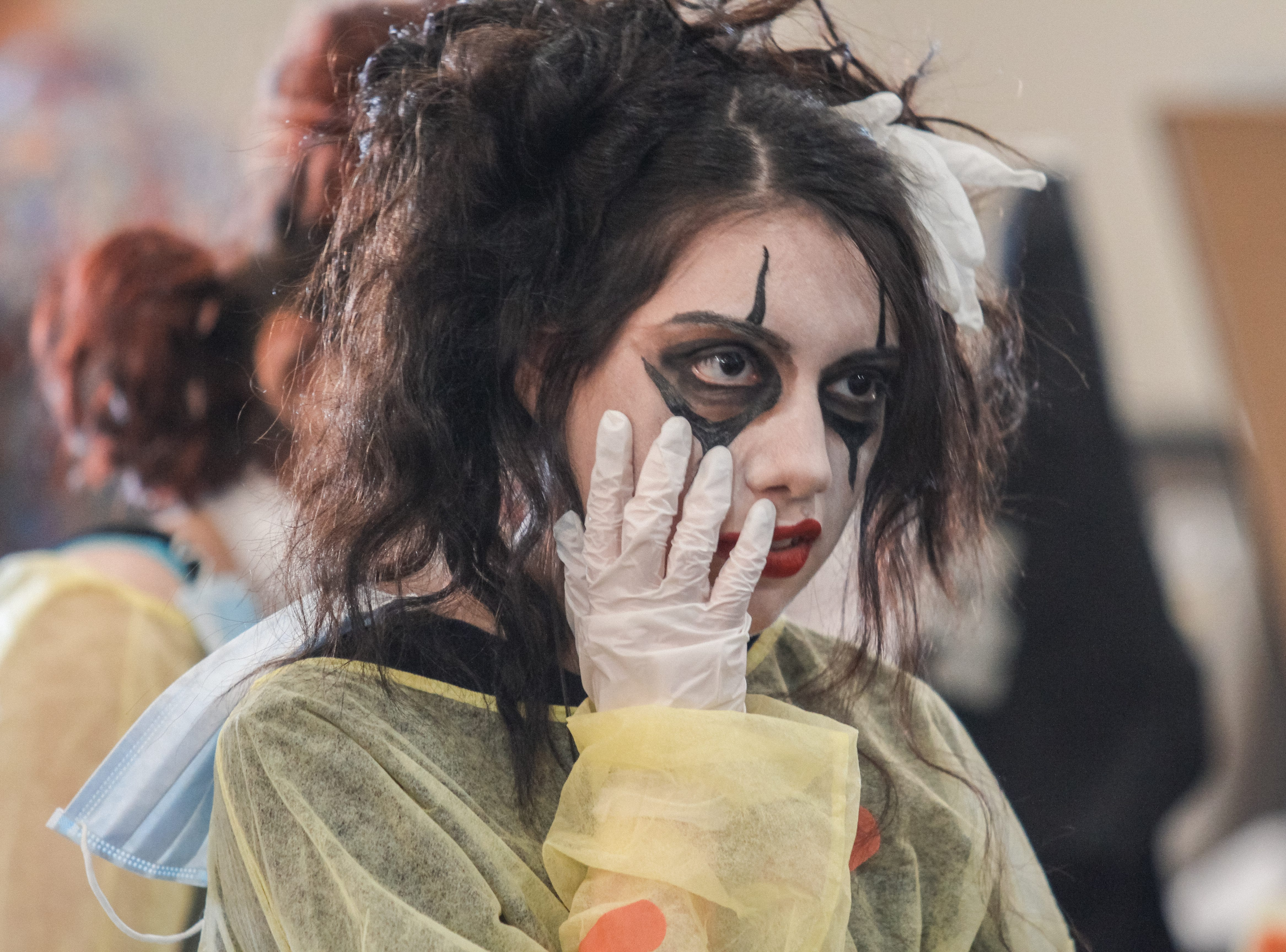 "Workers dress up, creating the feel of ""Alice's Asylum"" at Alice Cooper's Rock & Roll Fundraising Bash at the Las Sendas Golf Club in Mesa on April 27, 2019."