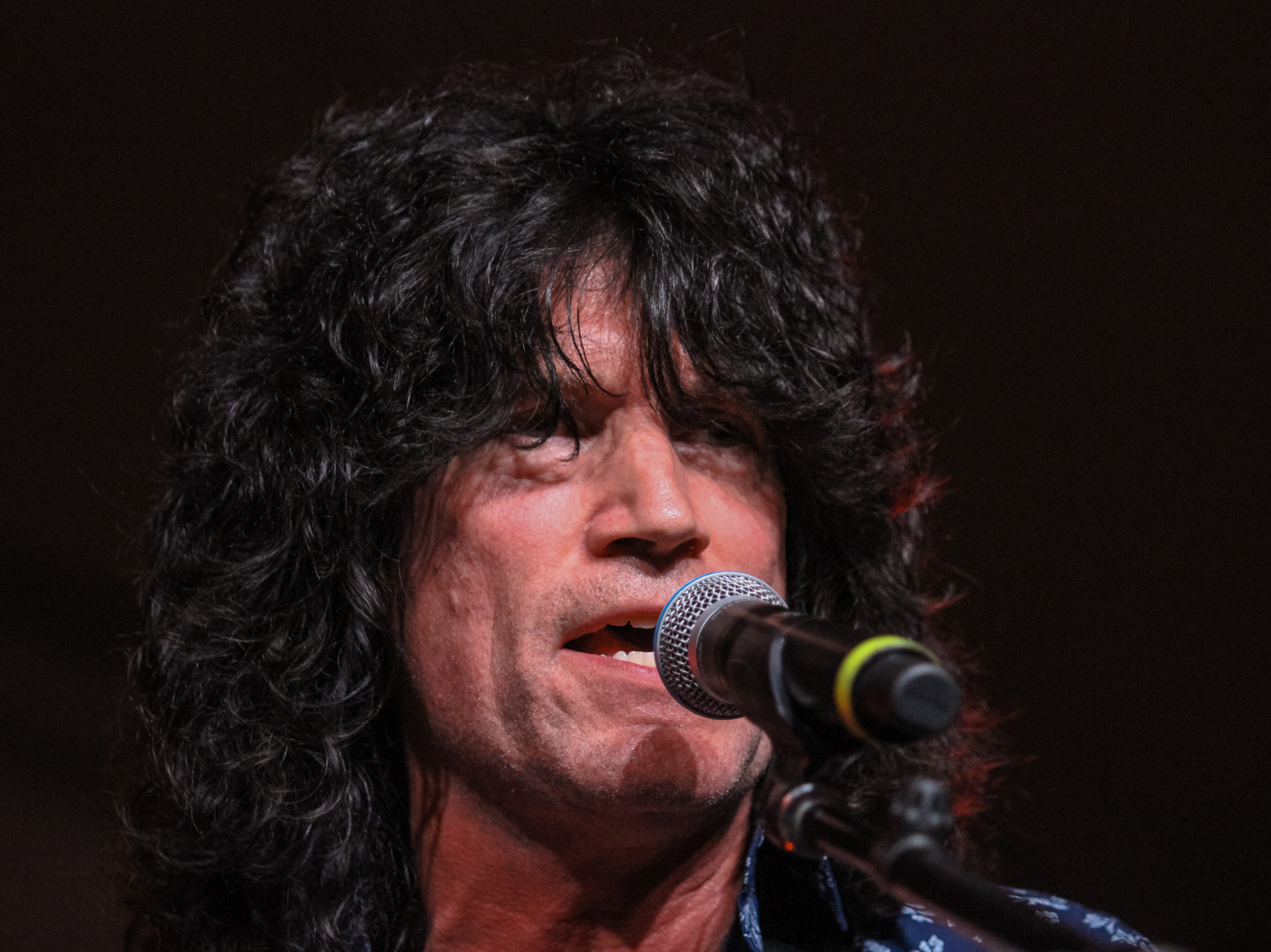 Tommy Thayer of Kiss preforms at Alice Cooper's Rock & Roll Fundraising Bash at the Las Sendas Golf Club in Mesa on April 27, 2019.