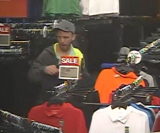 Another photo of a man Springettsbury Township Police want to ID, suspected of theft at the Kohl's in the township.