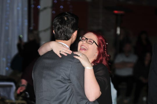Richmond High School students enjoyed slow dances Saturday during their Royal Ball prom at the Starr-Gennett building.
