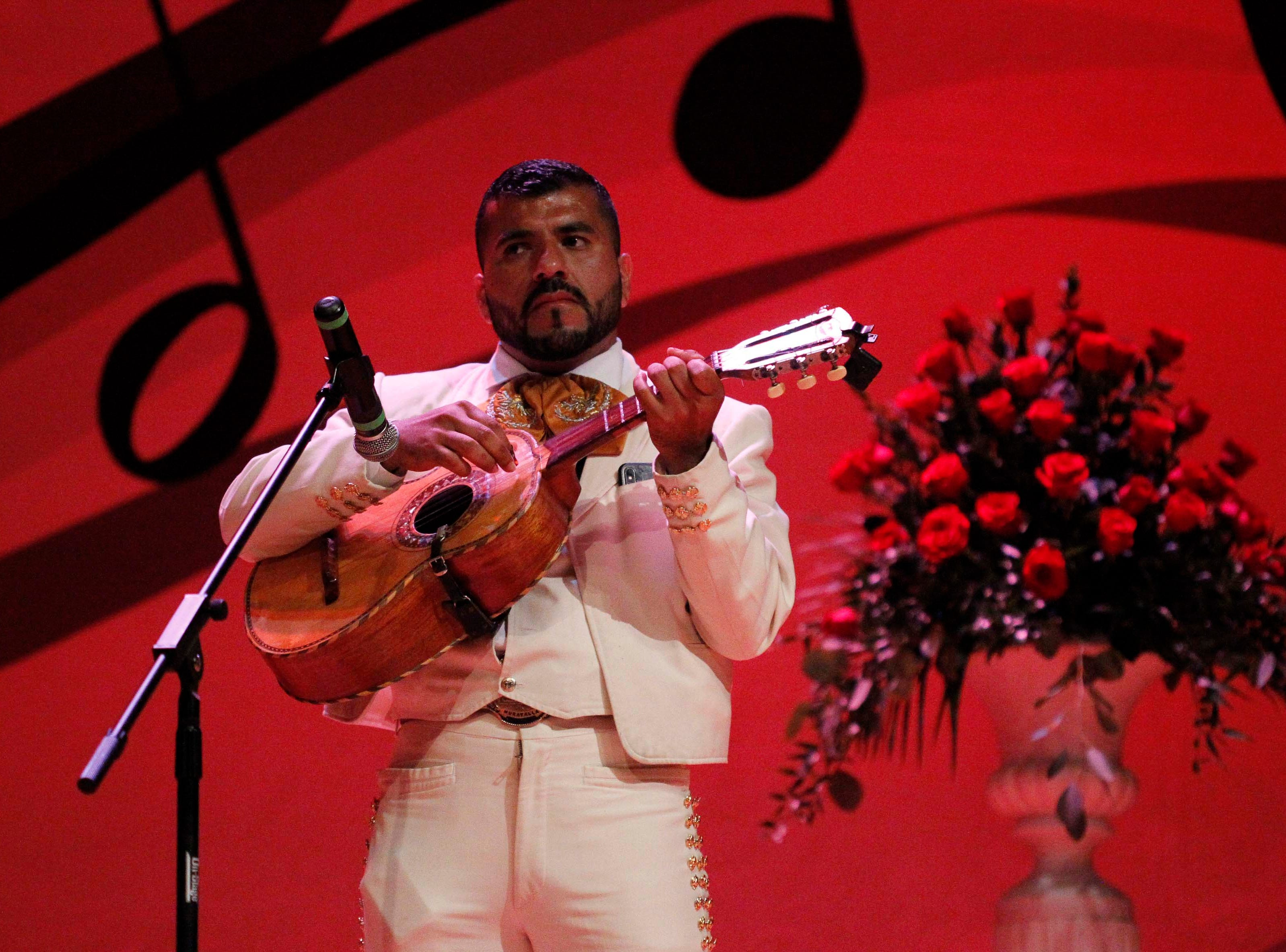 During the12th annual Noche Bohemia at Sherwood Hall on Saturday, April 27, 2019 in Salinas, Calif.