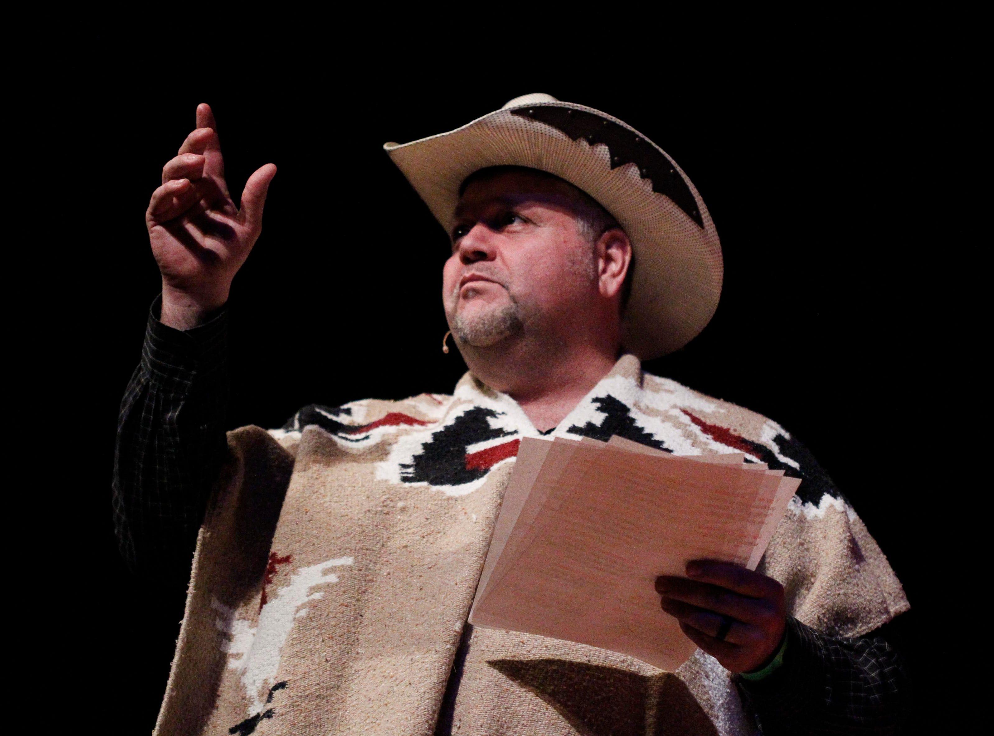 Octavio Valencia during the 12th annual Noche Bohemia at Sherwood Hall on Saturday, April 27, 2019 in Salinas, Calif.