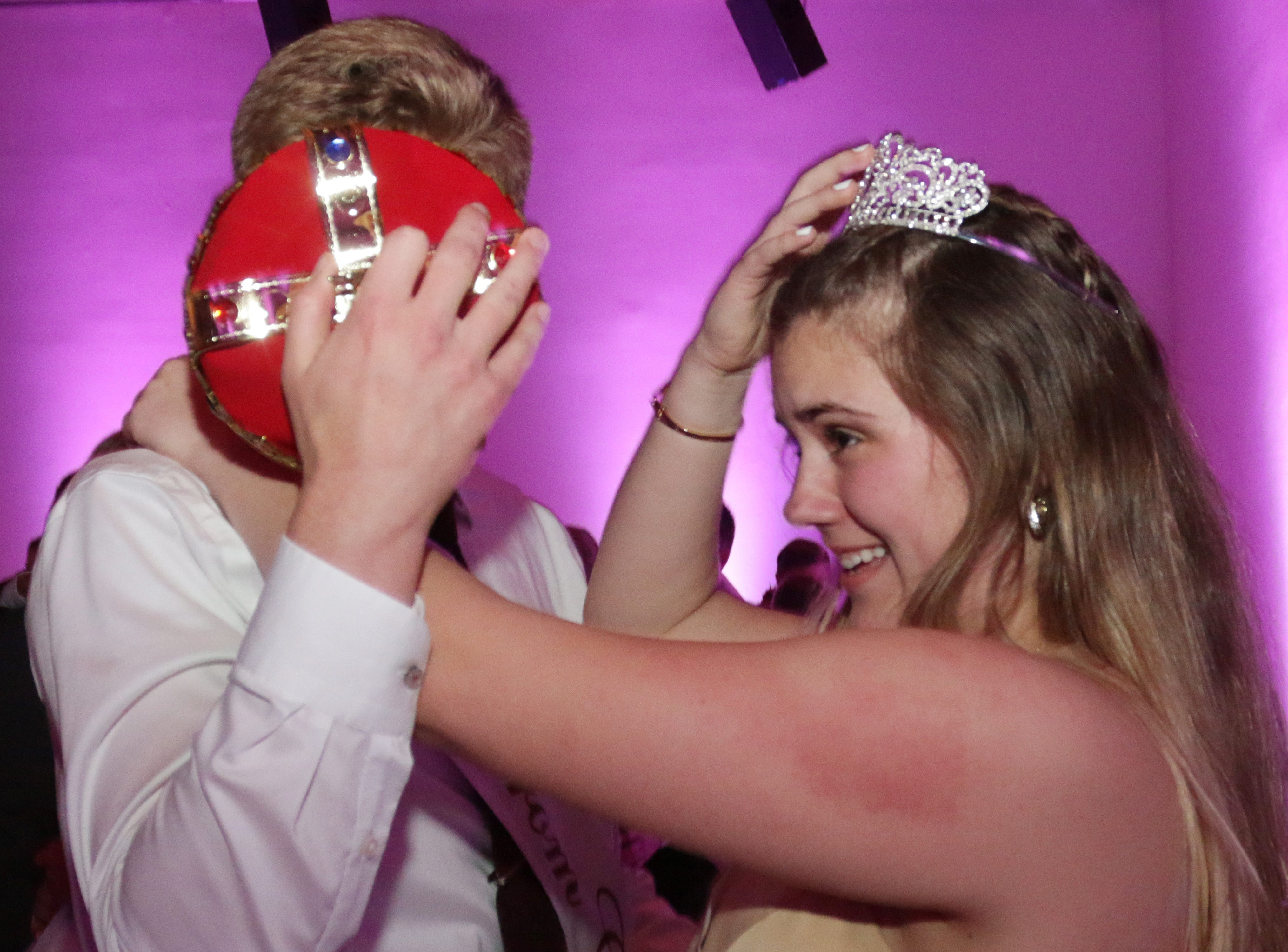 Scenes from the Sheboygan North Prom at the John Michael Kohler Arts Center.