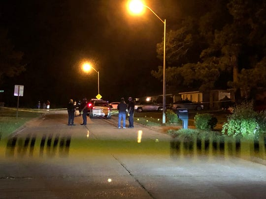 One male was killed and two others were injured Saturday evening in a shooting on Kingswood Drive.