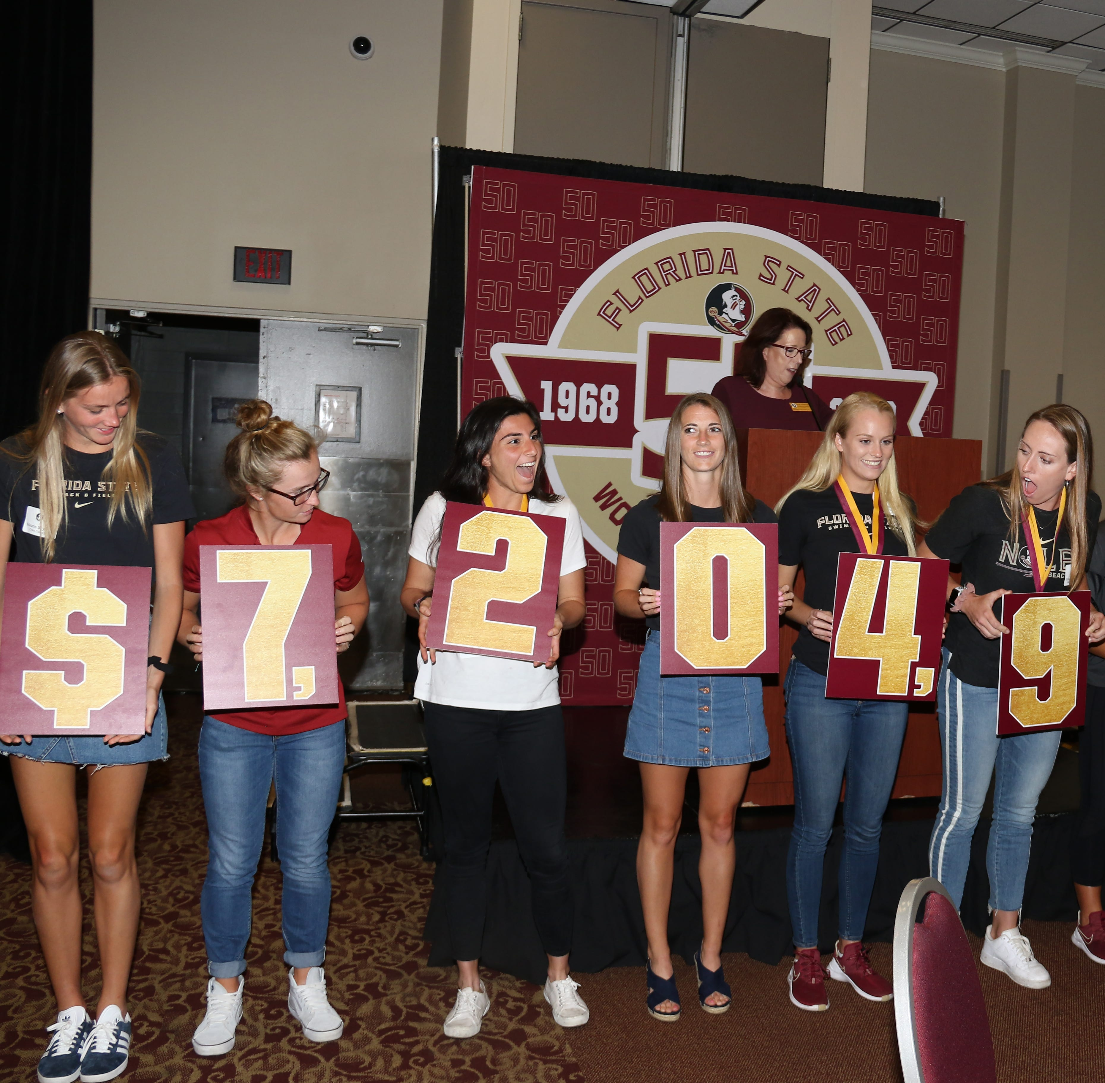 FSU concludes 50 Years of Women's Athletics Celebration at Garnet and Golden Finale